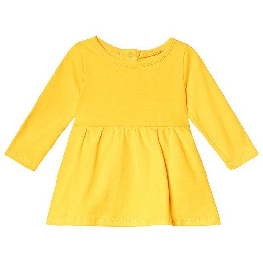 A Happy Brand Baby Dress Yellow