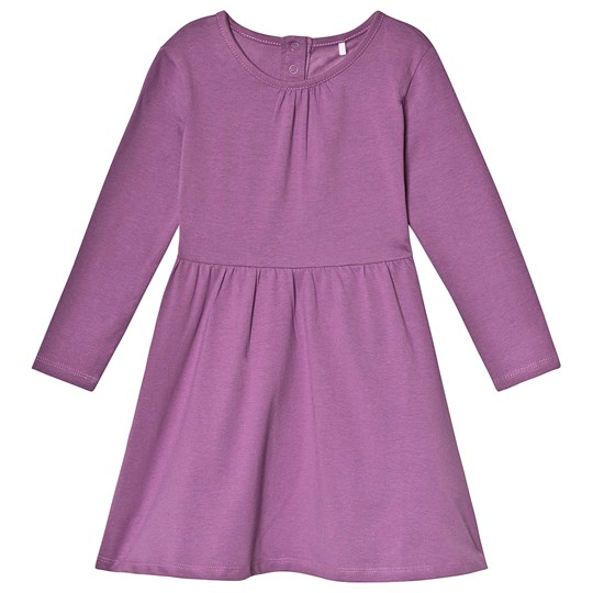 A Happy Brand Long Sleeve Dress Purple