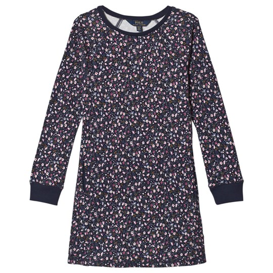 Ralph Lauren Navy Floral Dress 001