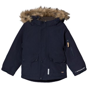 Image of Minymo Blue Nights Jacket 122 cm (6-7 år) (3125286967)