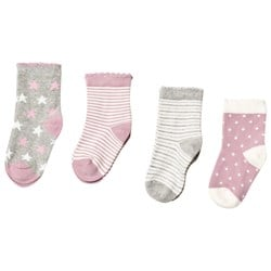 United Colors of Benetton 4-Pack Pink Knitted Socks