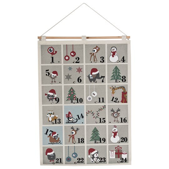 FORM Living Animals and Monsters Advent Calendar Grey