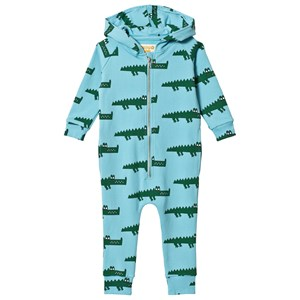 Image of Hugo Loves Tiki Crocodile Onesie Blue 18-24 mdr (3125247275)