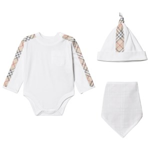Image of Burberry Alby 3-Pack Baby Set 1 month (3125256345)