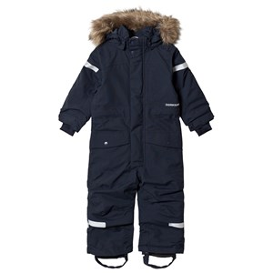 Image of Didriksons Björnen Kids Coverall Navy 80 (9-12 mdr) (3125311529)