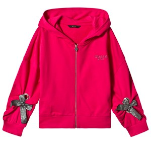 Image of Guess Pink Long Sleeve Guess Hoodie 16 years (3125298763)