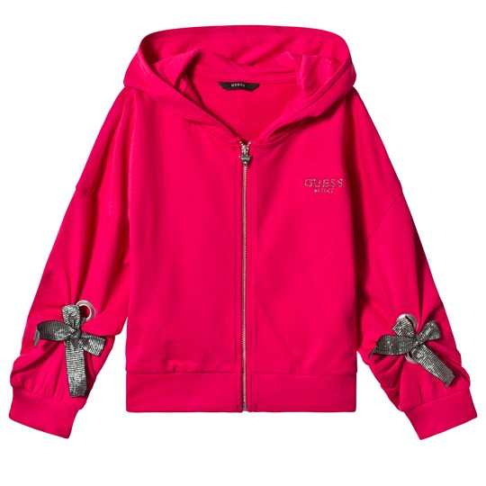 Guess Pink Long Sleeve Guess Hoodie ELRS