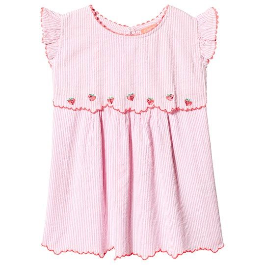Sunuva Pink Strawberry Crush Embroidered Dress Pink