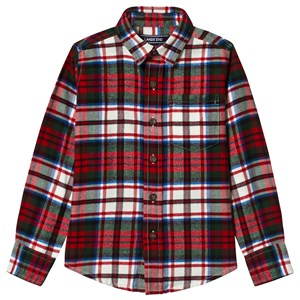 Image of Lands' End Red Check Shirt 5-6 years (3125287651)