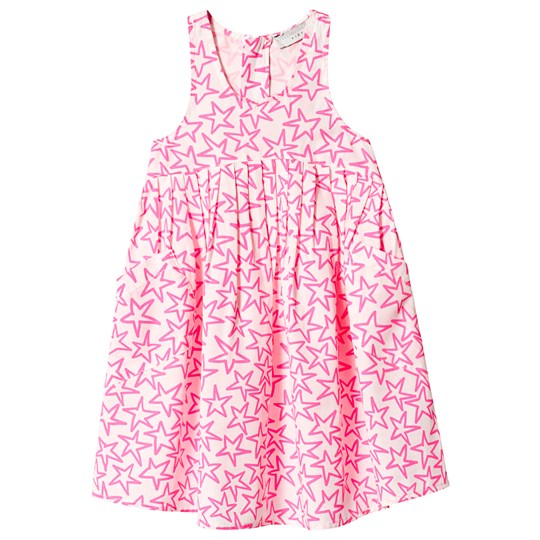 Stella McCartney Kids Kjole Stjerner Rosa 9082 - White