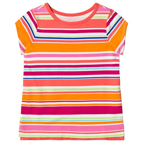 Lands' End Multistripe Short Sleeve T-shirt UW6