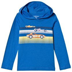 Lands' End Blue Racers Graphic Hoodie