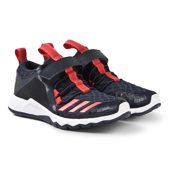 adidas Performance Black RapidFlex Sneakers legend ink/active red/ftwr white