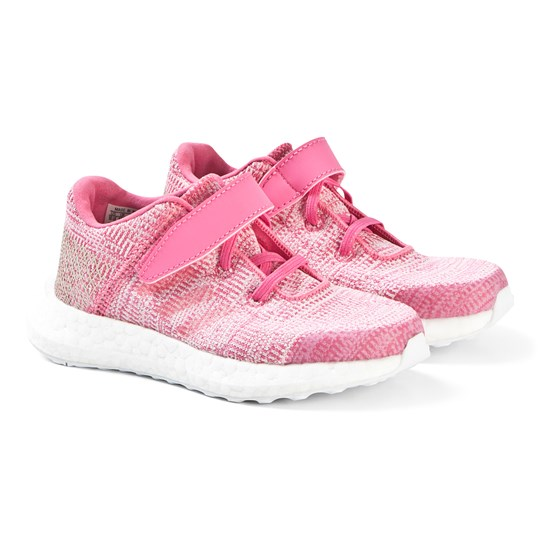 adidas Performance Pink PureBoost GO Sneakers semi solar pink/semi solar pink/clear brown