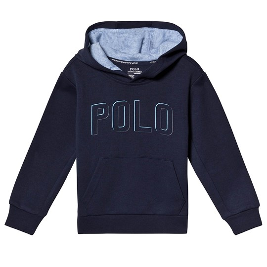Ralph Lauren Navy Polo Over Head Hoody 002