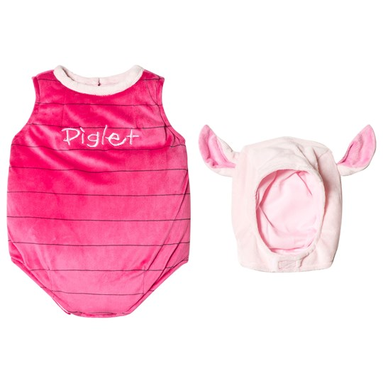 Travis Pink Piglet Tabard with Feature Hat Pink