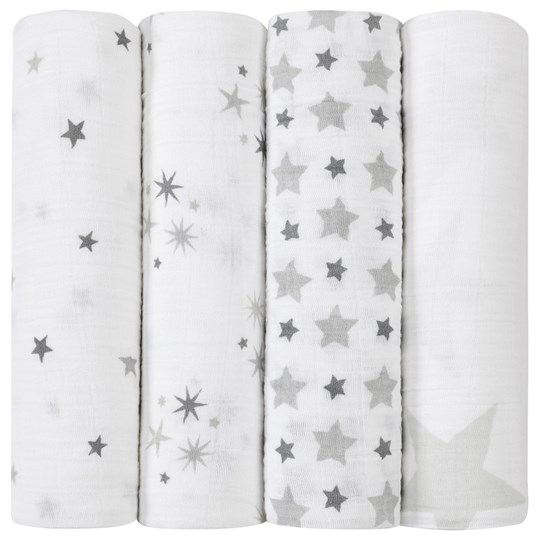 Aden + Anais 4-Pack Twinkle Classic Swaddles Twinkle