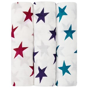 Image of Aden + Anais 3-Pack Celebration Silky Soft Swaddles (3038342901)