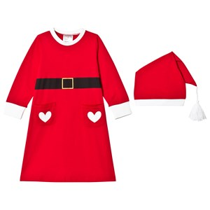 Image of Christmas Kids Santa Costume Red 134/140 cm (997867)