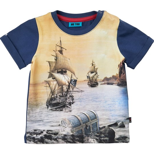Me Too T-shirt, Lau 279, Dark Denim Marinblå