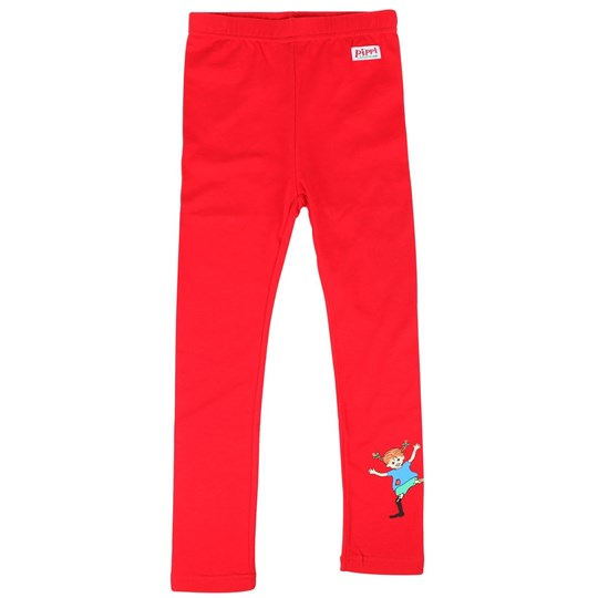 Pippi Långstrump Leggings, Red Red