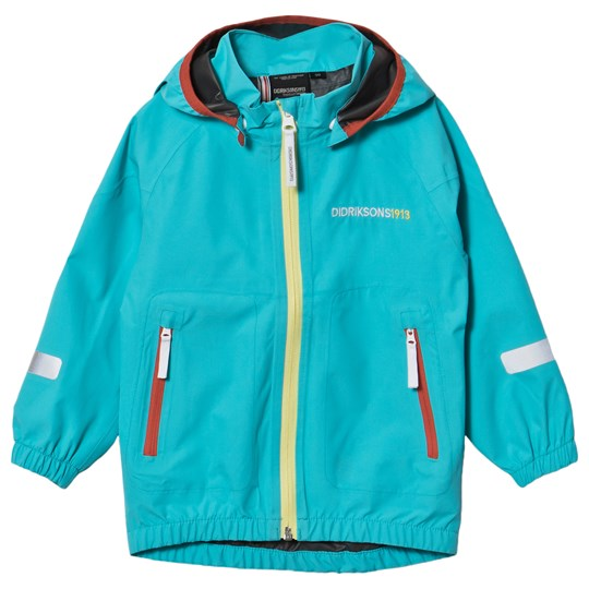 Didriksons Bay Jacket Pale Turquoise Blue