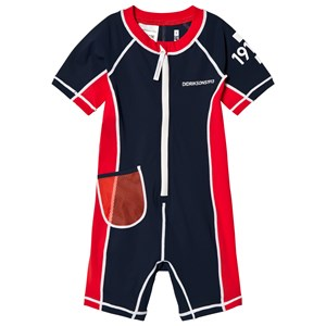 Image of Didriksons Reef Swimming Suit Navy 100 cm (3015417901)