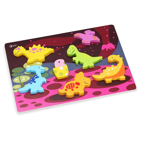 Classic World 3D Dinosaur Jigsaw Puzzle Wood Multi