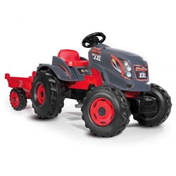 Smoby Tractor, Stronger XXL, Grey/Red
