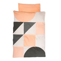 KAOS 70x100 Gjesp Organic Baby Bedding Set Peach