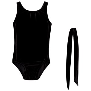 Image of Bloch Basic Velvet Tank Leotard Black 12-14 years (3125249031)