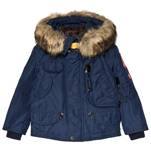 Image of Parajumpers Blue Eco Cadet Jacket 10 years (3125283361)