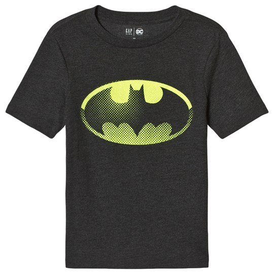 Gap DC™ Shield T-Shirt Batman Black TRUE BLACK
