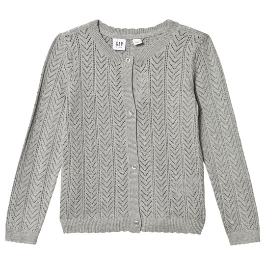 GAP Grey Heather Cardigan B10 GREY HEATHER