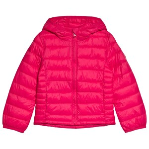 Image of GAP Pink Hibiscus Puffer Jacket XL (12-13 år) (1199289)