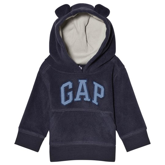 GAP True Indigo Bear Ear Hoodie TRUE INDIGO 340