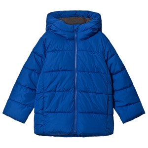Image of GAP Brilliant Blue V-Warmest Puffer Jacket M (8-9 år) (1199534)