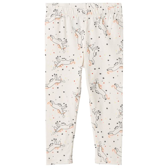 GAP White Unicorn Leggings UNICORNS 647