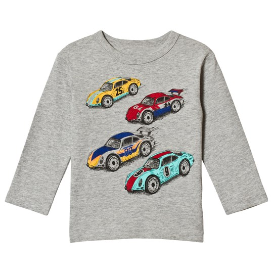 Gap Vintage Race Car Tröja Grå Light Heather Grey B08