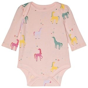 Image of GAP Pink Cameo Horse Baby Body 12-18 mdr (3065577603)