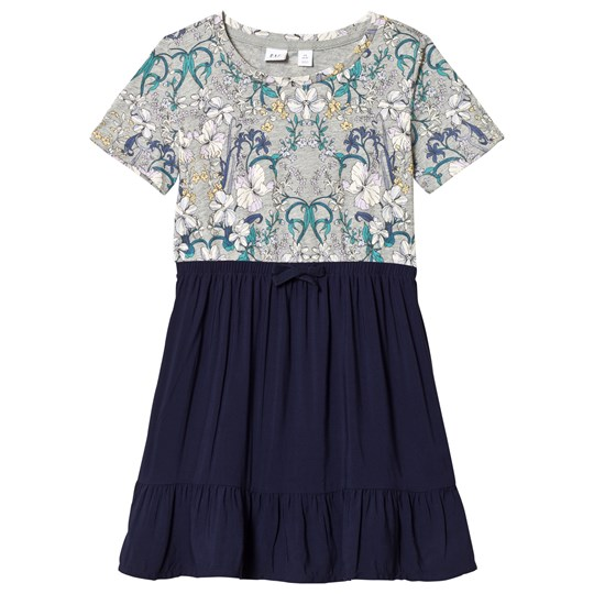 GAP Navy Uniform Floral Dress NAVY UNIFORM