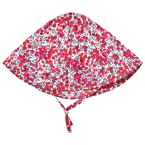 Image of Absorba Red Floral Liberty Sun Hat 39 (1-3 months) (3125308519)
