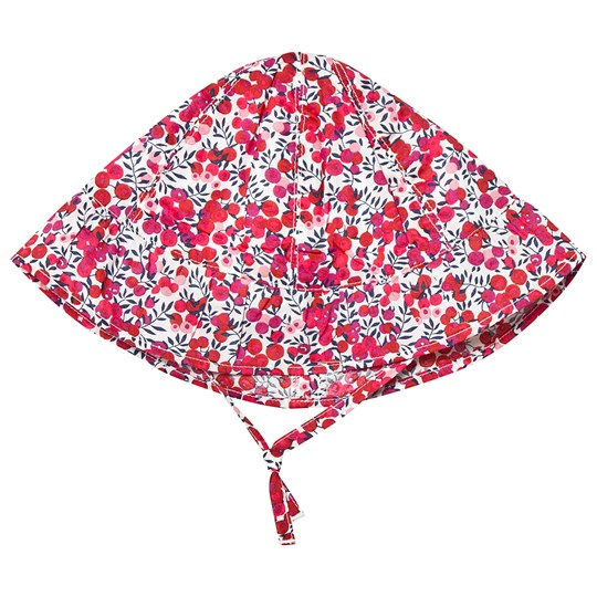 Absorba Red Floral Liberty Sun Hat 03