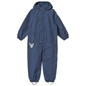 Image of Wheat Frankie Coverall Indigo 122 cm (6-7 år) (1290352)