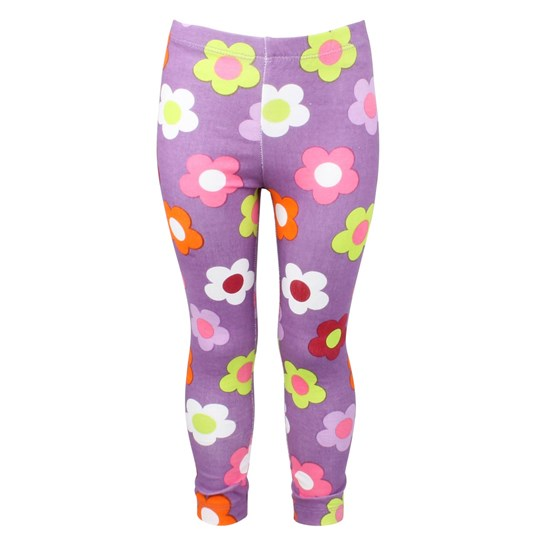 Me Too Papaya Mini Leggings Pansy Multi
