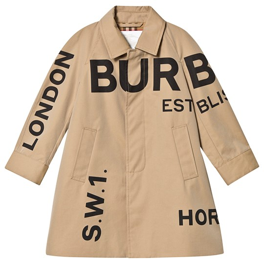 Burberry Beige Antonio Burberry Printed Trench Coat A1366