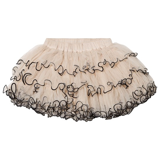 DOLLY by Le Petit Tom Boho Tutu Skirt Coffee COFFEE