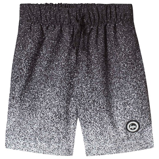 Hype Black Speckle Fade Swimming Shorts Black