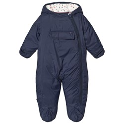 Tommy Hilfiger Navy Baby Coverall