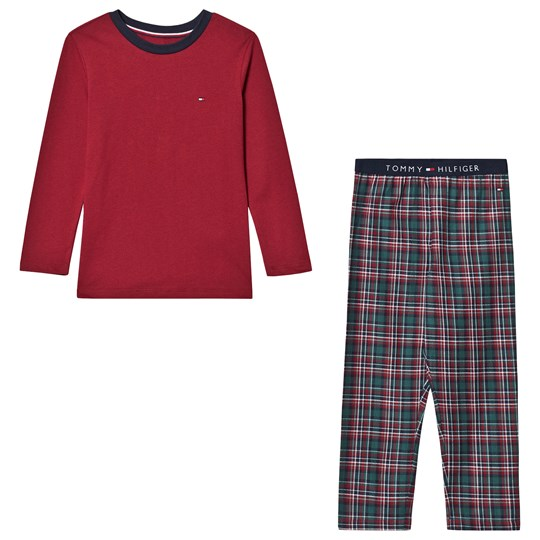 Tommy Hilfiger Red Check Holiday Pyjamas 044